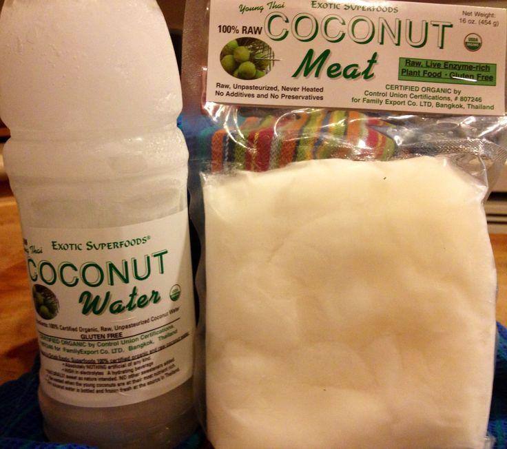 Quickie Raw Vegan Coconut Yogurt Recipe - 3 Ingredients