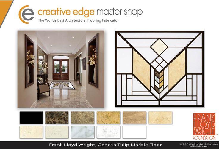Фрэнк Ллойд Райт мозаичные полы - Творческий Пограничный Master Shop