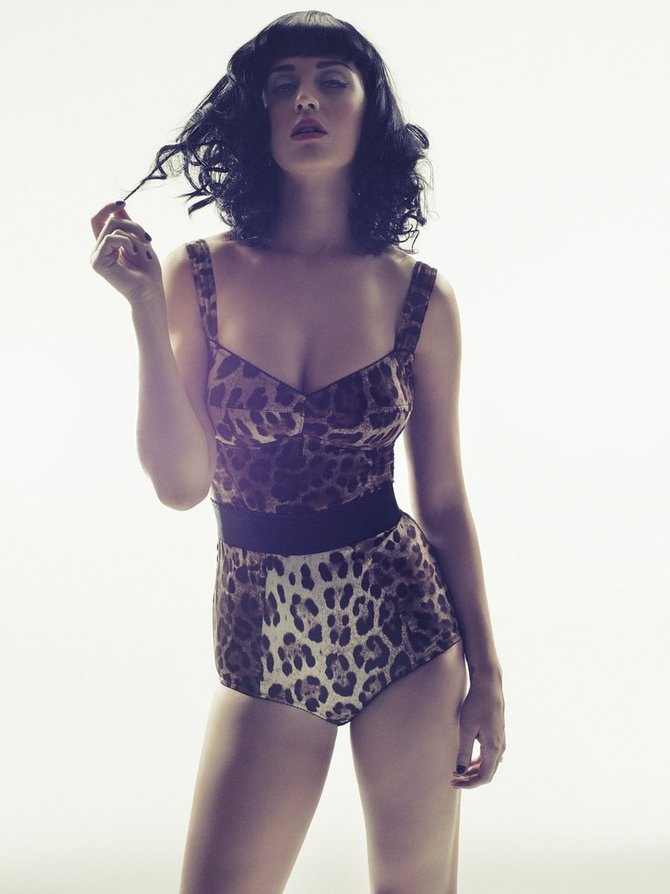 katy perry / leopard