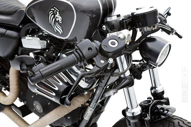 Harley Custom Sportster 48 by Rampant X Ellaspede | Gear X Head
