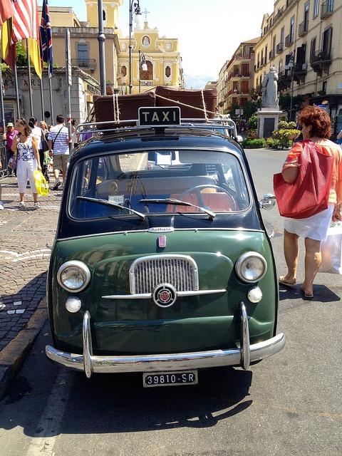 Fiat 500 In Sorrento