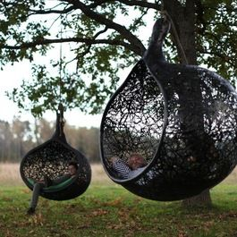 absolutely love...Hanging Chairs....a must have!