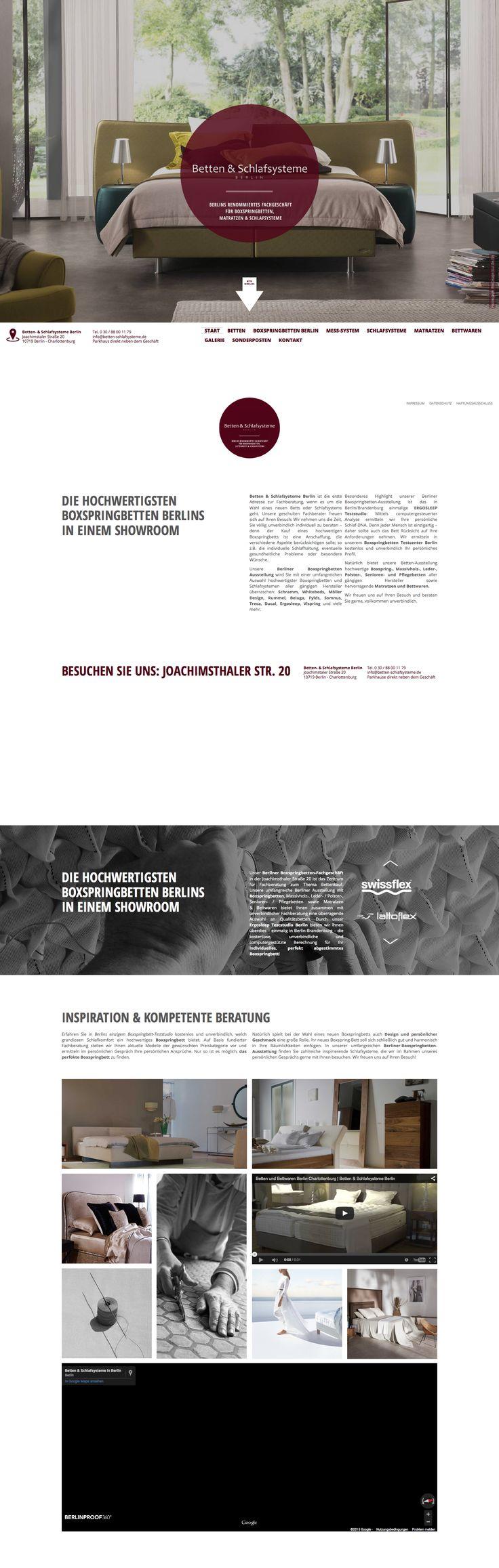 Betten & Schlafsysteme Berlin Boxspringcenter Website erstellt von Netgenerator Werbeagentur Berlin https://www.netgenerator.de/de/referenzen-kunden-und-projekte/webdesign-beispiel-moebel-einrichtung/betten-schlafsysteme-berlin-wordpress.html