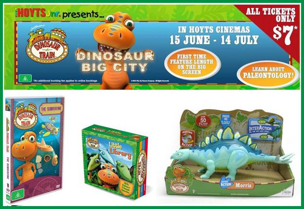 Dinosaur Train COMPETITION