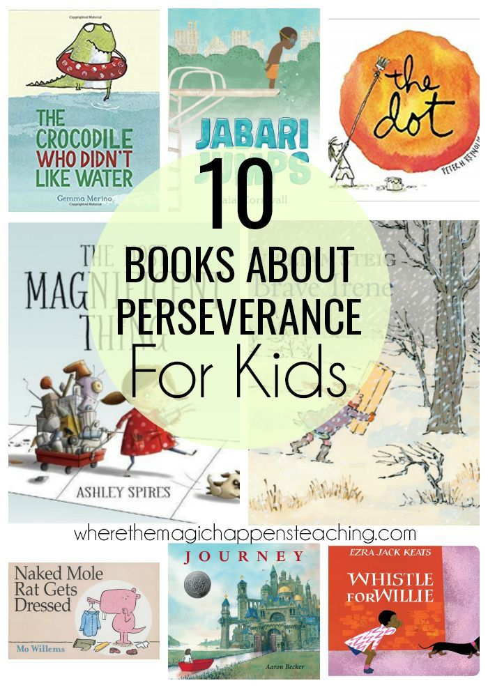 Books About Perseverance For Kids Perseverance For Kids Mentor Texts Character Motivation