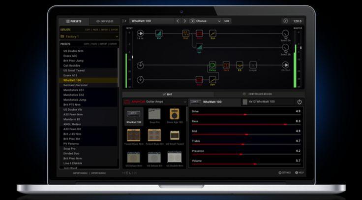 Zur NAMM Show packt Line6 den Helix Sound nicht nur in die DAW, sondern schickt auch eine Bariton Variax ins Rennen.