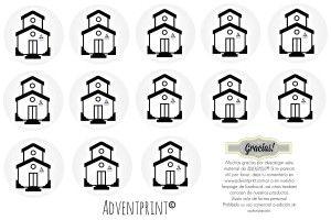 PDF de iglesias para imprimir y usar cuando se alcanza el blanco de las ofrendas