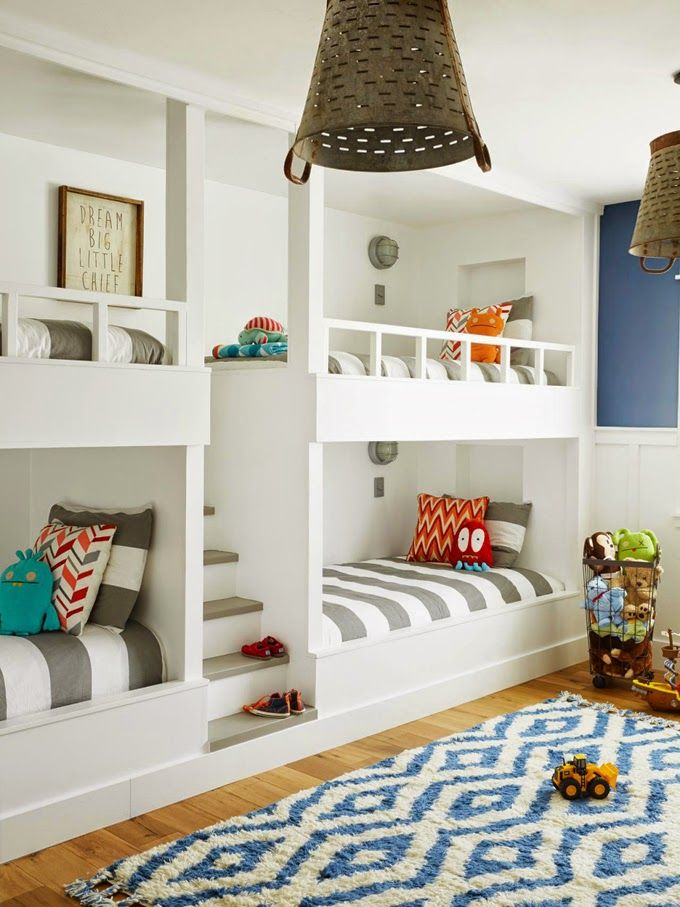 Cool bunk room