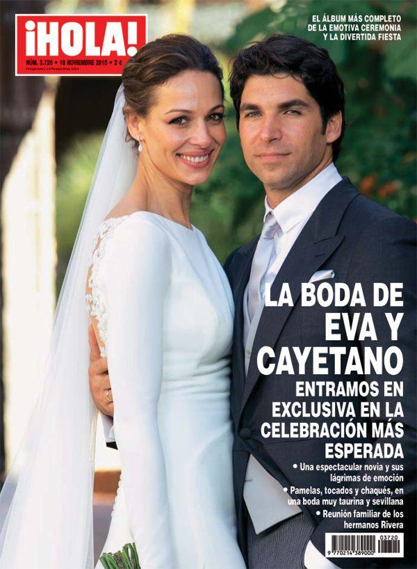 En ¡HOLA!, las imágenes exclusivas de la boda de Cayetano Rivera y Eva González
