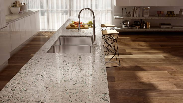 14 best kitchen countertop inspiration images on pinterest for Countertop materials
