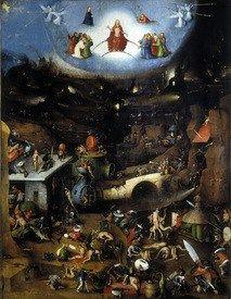 Hieronymus Bosch Bilder das Jüngste Gericht