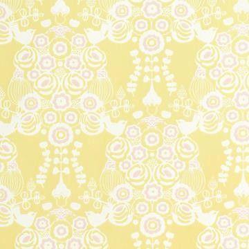 Beställ Estelle gul/orange/röd tapet från Majvillan®