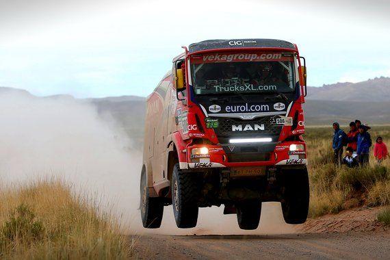 Gerard de Rooy wint Dakar 2016 - Truckstar