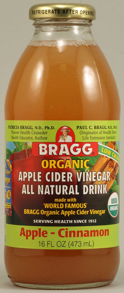 """1 tbsp. of Apple Cider vinegar with """"mother,"""" 1 cup of grapefruit juice: can help control appetite and help you loose weight!"""