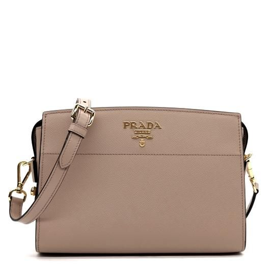 b2461a6bdb48 Designer: Prada Group name: Saffiano + Soft Item name: Bandoliera Article  number: 1BH104 Style: Crossbody / Messenger Condition: New with tags  Measurements: ...