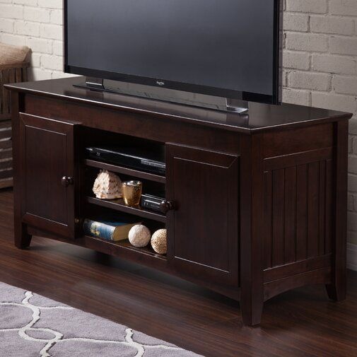 Breakwater Bay Herring Tv Stand For Tvs Up To 60 Reviews Wayfair Kayu Jati Minimalis Meja