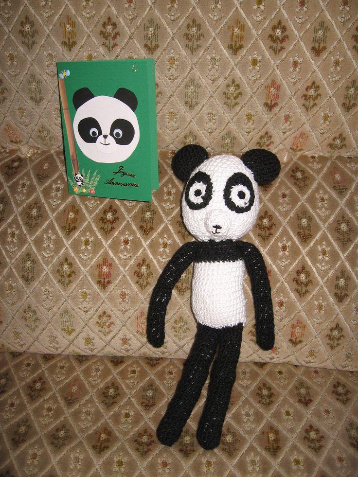Carte et panda pour Nolhan