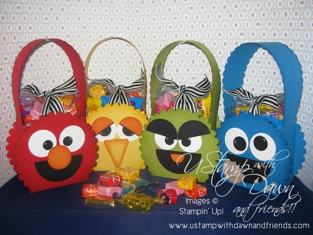 Sesame Street treat bags