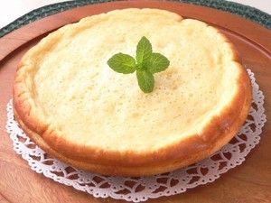粉チーズ+ヨーグルトで、極旨ヘルシーチーズケーキ