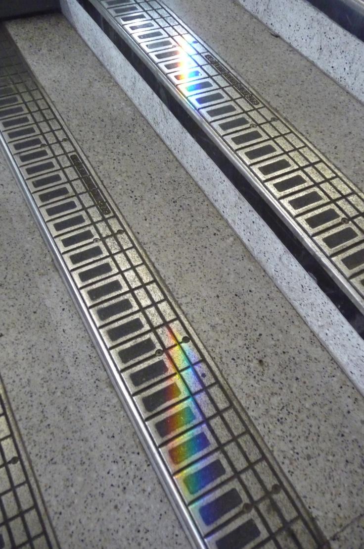 Shoreditch Station: Rainbow At Shoreditch Station