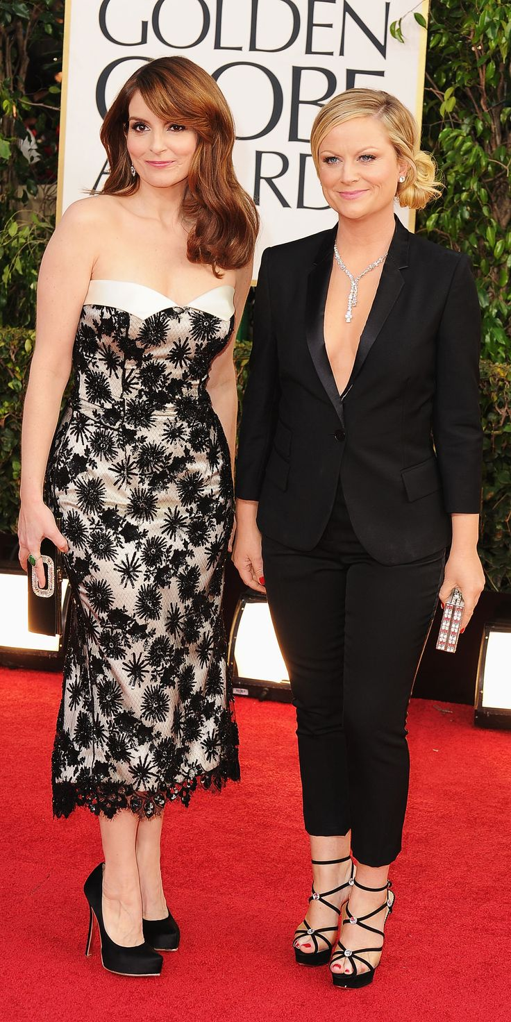 At the Golden Globes (2013)