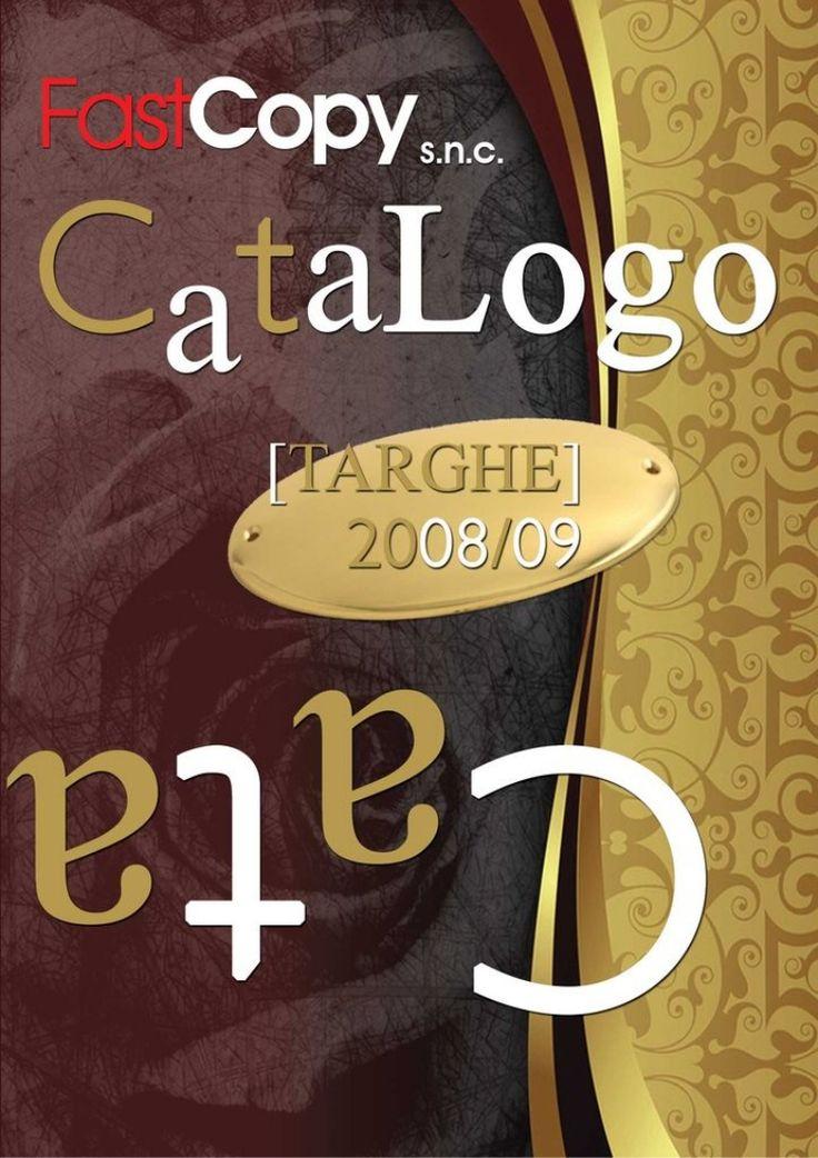Targhe per porta in Ottone  Targhefastcopy by Benedetto Speranza via slideshare