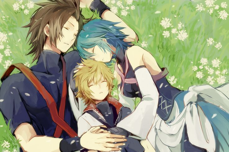 Terra, Aqua, and Ventus - Kindom Hearts Birth by Sleep