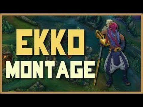 League of Legends - Ekko Montage 2016 | Epic Ekko Plays Compilation
