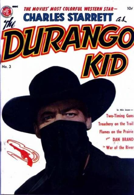 Charles Starrett as The Durango Kid #3 (Issue)