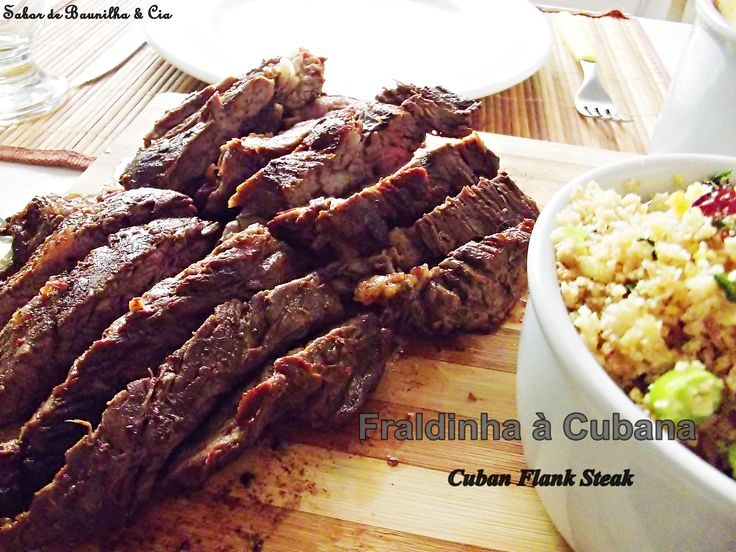 Fraldinha à Cubana – Cuban Flank Steak