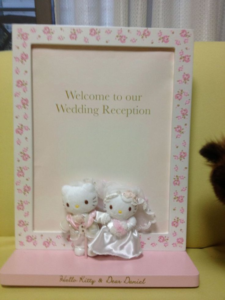 Hello kitty Wedding Welcome board SANRIO from JAPAN in | eBay