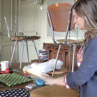 Vidéo : Apprenez à retapisser une chaise avec Fabuleuse Factory - Marie Claire Idées