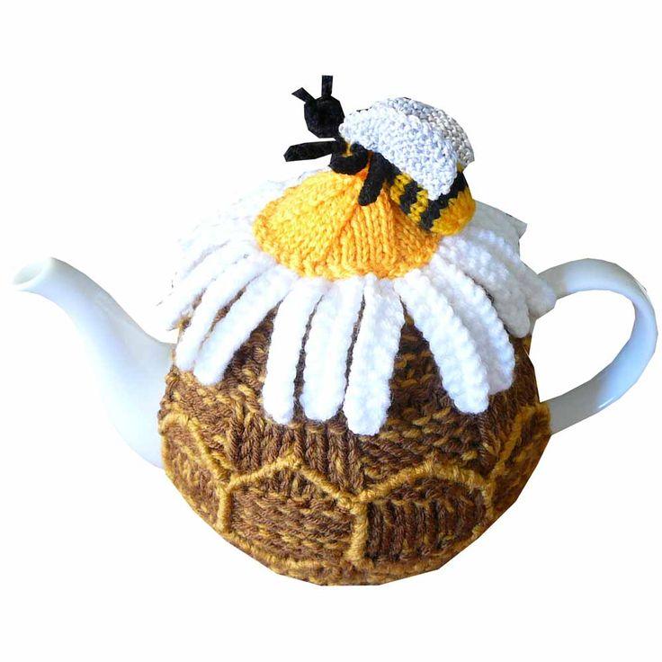 Honey Bee And Daisy Tea Cozy