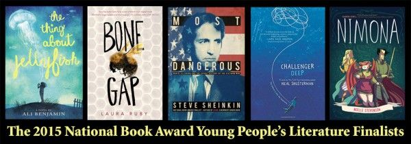 Five Finalists Announced for the 2015 National Book Award for Young People's Literature | School Library Journal