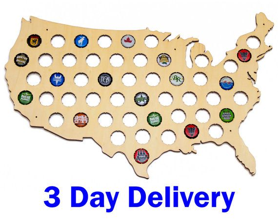 Best Beer Cap Maps Images On Pinterest Beer Caps Craft Beer - Us beer cap map