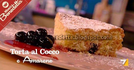 Torta al Cocco e Amarene | la ricetta di Benedetta Parodi