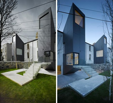 Great Juxtaposing Of Different Building Styles And Period By ODOS Architects