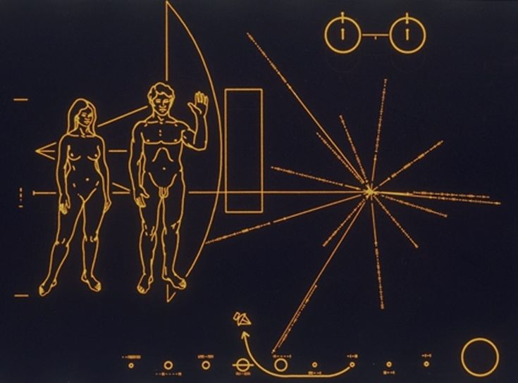 voyager 1 plaque - photo #26