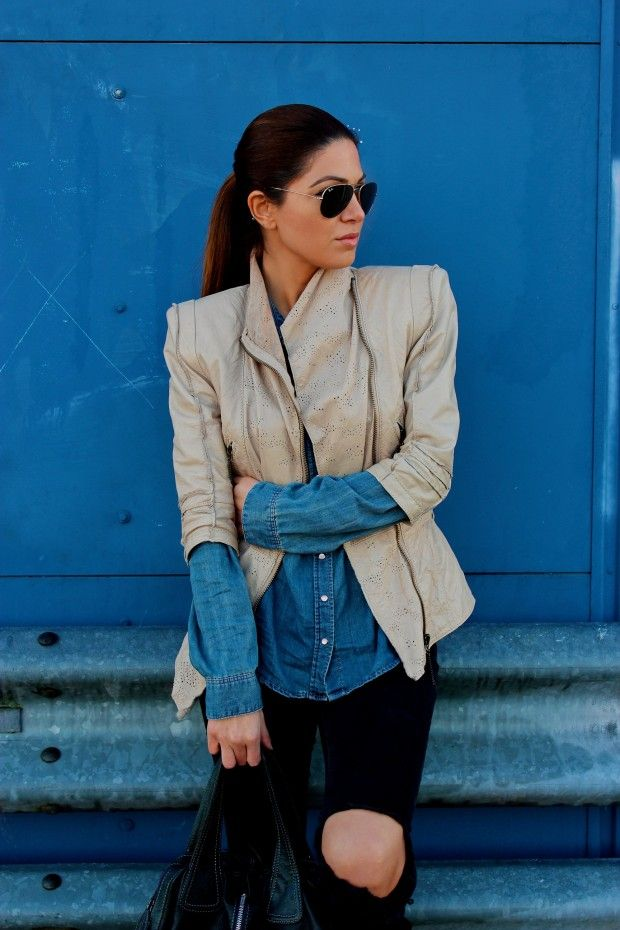 Negin Mirsalehi / Statement Jacket //  #Fashion, #FashionBlog, #FashionBlogger, #Ootd, #OutfitOfTheDay, #Style