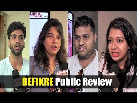 BEFIKRE movie Public Review | Ranveer Singh, Vaani Kapoor.
