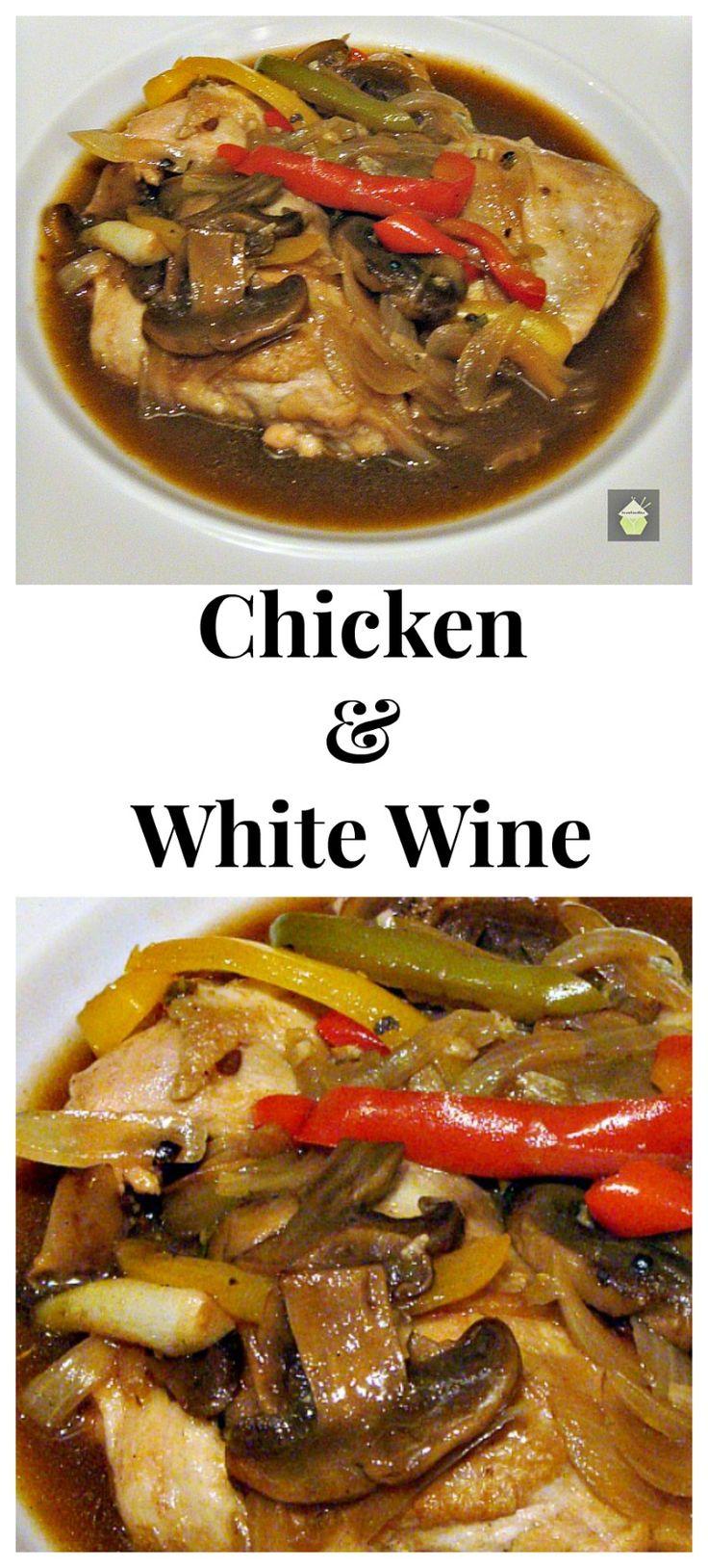 ... Chicken In White Wine on Pinterest | White wine sauces, Wine sauce and