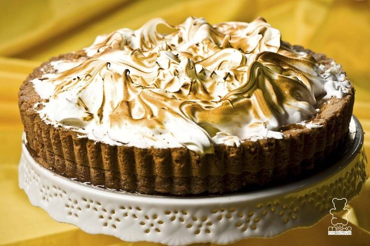 tarta z kremem cytrynowym /  tart with lemon cream www.danielmisko.pl