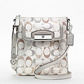 I would like this purse for the summer... *sigh*: Kristin Embellished, Coach Bags, Coach Handbags, Handbags Coach, Designer Handbags, Coach Purses, Signature Swingpack, Coach Kristin, Cheap Coach