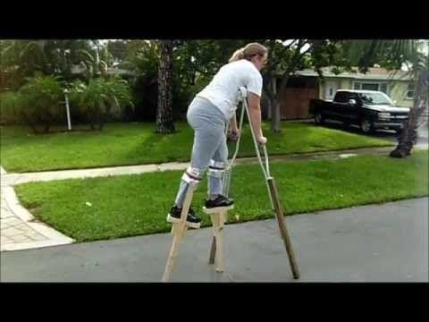 QUAD SUIT (FOUR LEGGED) HALLOWEEN COSTUME - YouTube