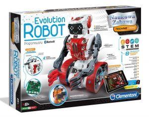 CLEMENTONI EVOLUTION ROBOT Z BLUETOOTH PORGRAMOWANY 60466
