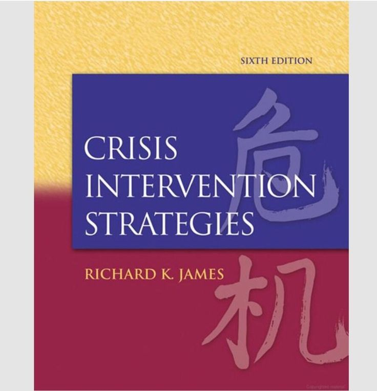 Please help me out and re-pin this item to share with your followers! Part of the earnings from my eBay items are donated to a pet rescue organization! Help make a difference :)  Textbook for sale: Crisis Intervention Strategies by Richard K. James (2007, Hardcover) in Books | eBay