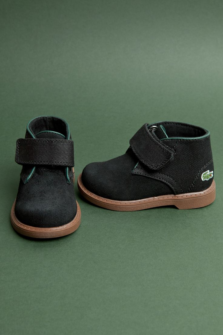 Serious dapper for the littles! New in from Lacoste. #schuhKIDS