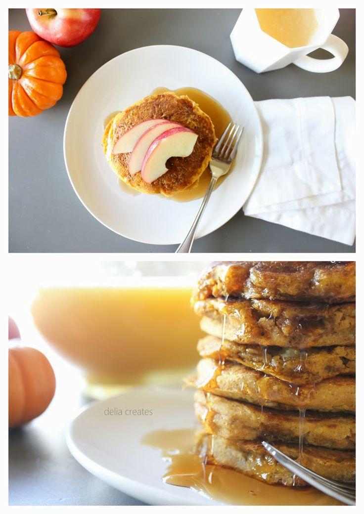 delia creates: Pumpkin Apple Pancake Recipe - Allergy Friendly!