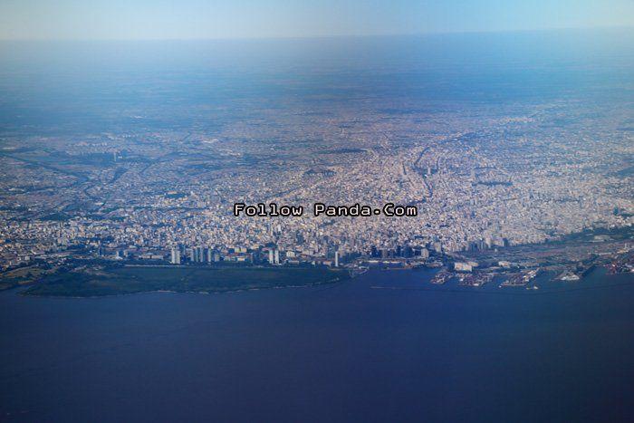 Aerial View of Puerto Madero - Buenos Aires, Argentina | FollowPanda.COM