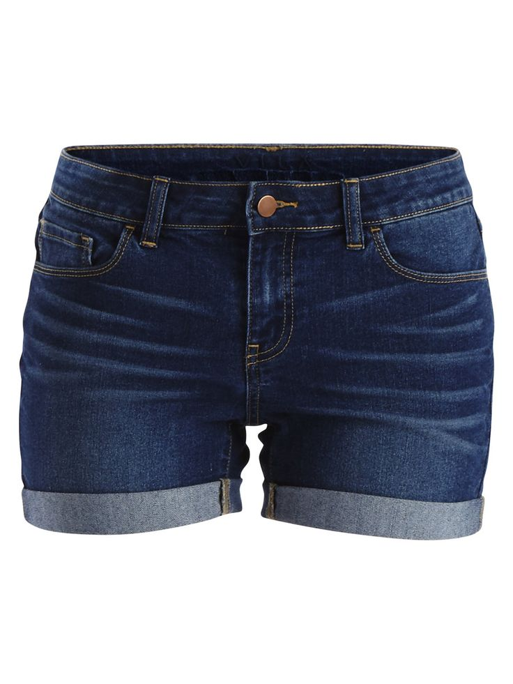 VIGROUP - DENIM SHORTS, Dark Blue Denim